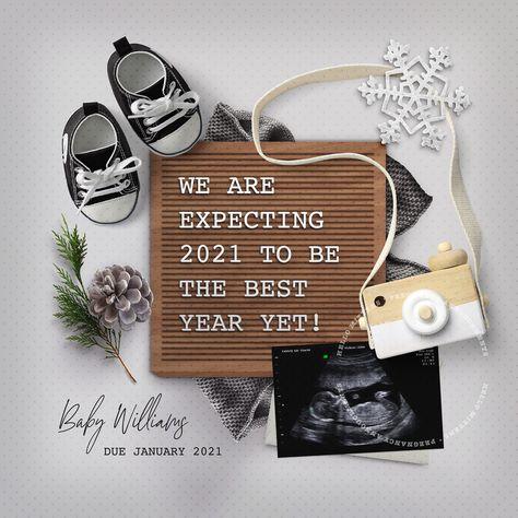 Rainbow Baby Announcement, Cute Baby Announcements, Creative Pregnancy Announcement, Christmas Baby Announcement, Pregnancy Announcement Photos, Pregnancy Picture Ideas, Pregnacy Announcement, Disney Baby Announcement, Christmas Pregnancy Reveal