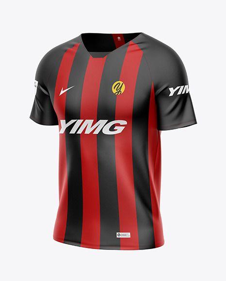 Download Men S Soccer Jersey Mockup In Apparel Mockups On Yellow Images Object Mockups Clothing Mockup Shirt Mockup Design Mockup Free