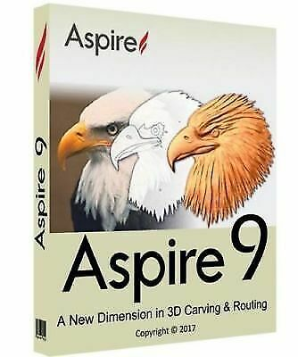 Software 40134: Vectric Aspire 9 - Lifetime ( Download +