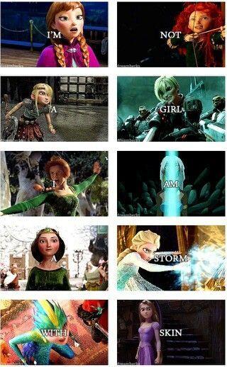 I am a Disney Princess like a storm - #Disney #Princess #storm