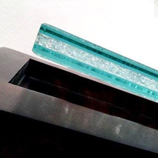 Did You Know Facet Glass Is Made Of Three 1 4 Pieces Of Laminated Glass Once They Are Bonded Together The Cen Laminated Glass Faceted Glass Glass Top Table