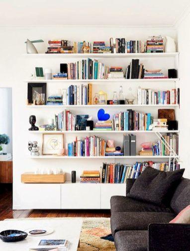 Trending Ideas Floating Shelf For Living Room Part 25 Elonahome Com Living Room Design Diy Bookshelves In Living Room White Rooms