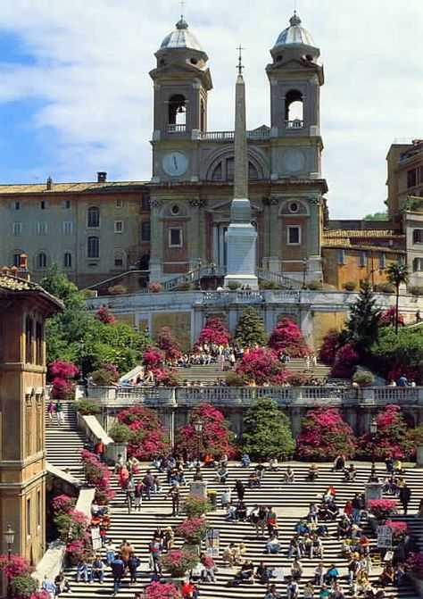 TO:..The Spanish Steps, Roma...