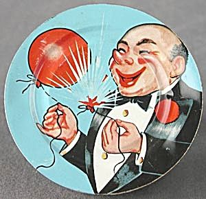BALLOONS /& Musial Notes New Year/'s Eve NOISEMAKER with FACES