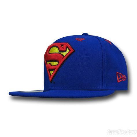 b7f68deb096 Superman Symbol Stargazer 59Fifty Hat new era dc comics