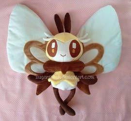 Pokemon Center Original Kuttari stuffed Mokuro good night ver.