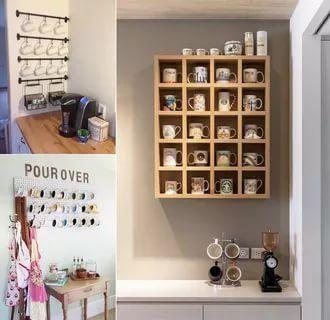 30 Exclusive Wall Shelf Ideas In 2020 Mug Storage Wall Storage Shelves Kitchen Wall Storage