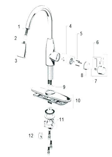 American Standard Kitchen Faucet Repair Dengan Gambar