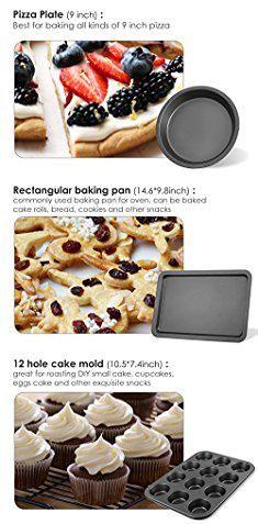 Teflon Bakeware Deik Bakeware Set Nonstick Cookie Sheet Baking