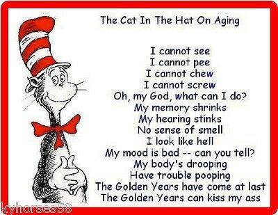 Find many great new & used options and get the best deals for The Cat In The Hat On Aging Refrigerator Magnet at the best online prices at eBay! Free shipping for many products!