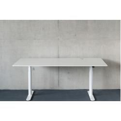 Arbeits-Tisch HiLow 2 Montana weiß, Designer Peter J. Lassen, Joakim Lassen, 63.4-125.1x160x80 cm Mo