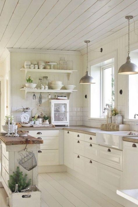 30 Awesome Small Farmhouse Kitchen Decor Ideas Best For Your