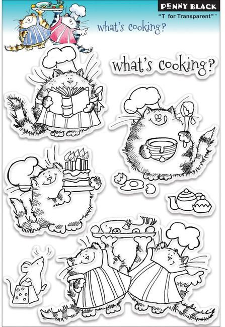 What's Cooking - Clear Stamp