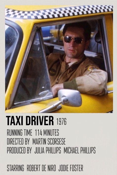 taxi driver polaroid movie poster