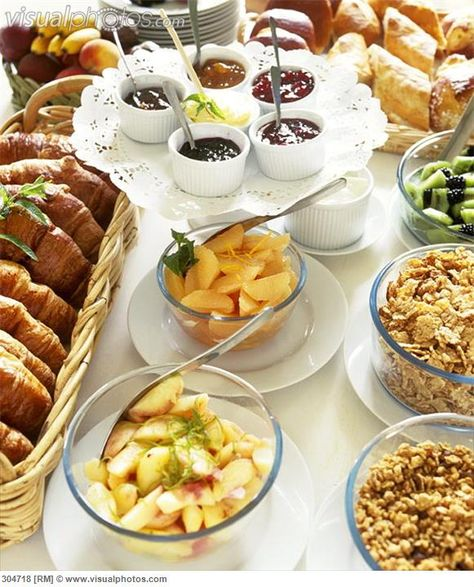 Brunch Ideas At Work: Continental Breakfast Setup On Pinterest
