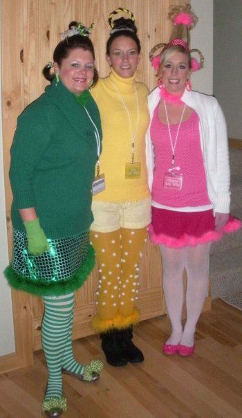 Christmas Halloween Costumes Diy.Who S From Whoville Grinch Stole Christmas Halloween