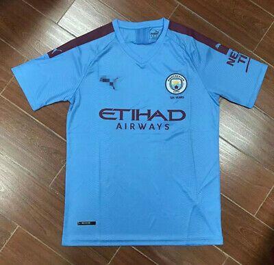 Advertisement Ebay 2019 2020 Manchester City Home Soccer Jersey Soccer Jersey Soccer Shirts Football Shirts
