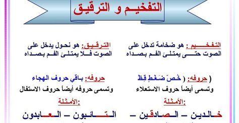 Resultat De Recherche D Images Pour تجويد احكام الراء ورش Math Islam Quran Quran