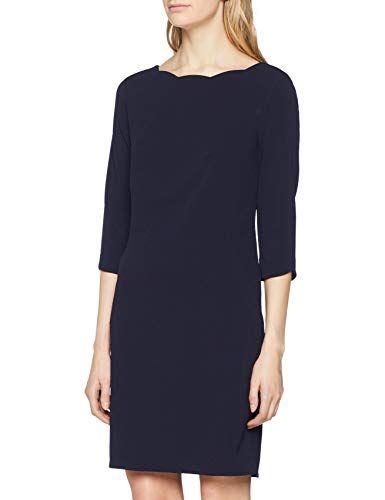 S Oliver Black Label Damen 01 899 82 5128 Kleid Blau True Blue 5959 Herstellergrosse 36 Kleider Damen Modestil