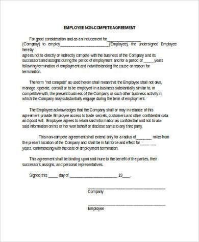 Non Compete Agreement Pdf In 2020 Rental Agreement Templates Agreement The Tenant