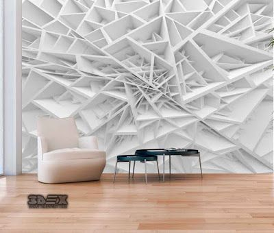 3d Effect Wallpaper Patterns For Living Room Walls A Complete