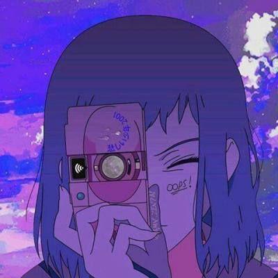 Purple Aesthetic Tumblr Aesthetic Anime 90s Anime Anime