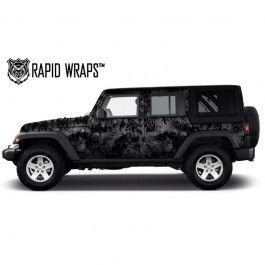 KRYPTEK™ Camo Vehicle Wrap Kits