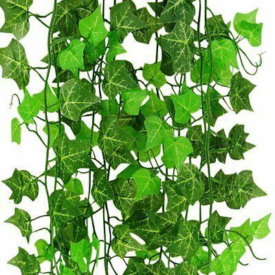Fashion Home Garden Homedcor Floraldcor Ebay Link Artificial Fake Hanging Artificial Fake Hanging Plant Ivy Vine Garland Green Decor Leaves P Ebay