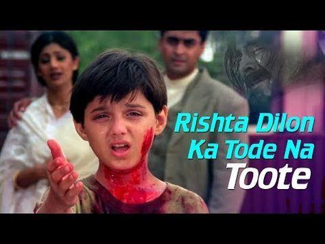 Rishta Dilon Ka Tode Na Toote Jaanwar Songs Akshay Kumar Shilpa Shetty Sunidhi Chauhan Youtube Songs Youtube Sweet Words