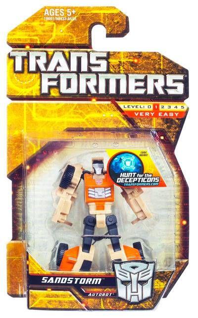 Transformers 2010 Legends Series 01 Sandstormby Hasbro