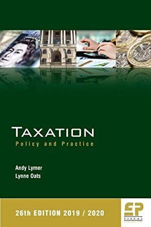 Download Taxation Policy And Practice 2019 20 26th Edition 2019