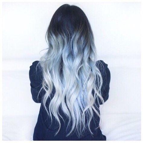 On We Heart It Hair Pinterest Hair Dyed Hair And Blue Hair