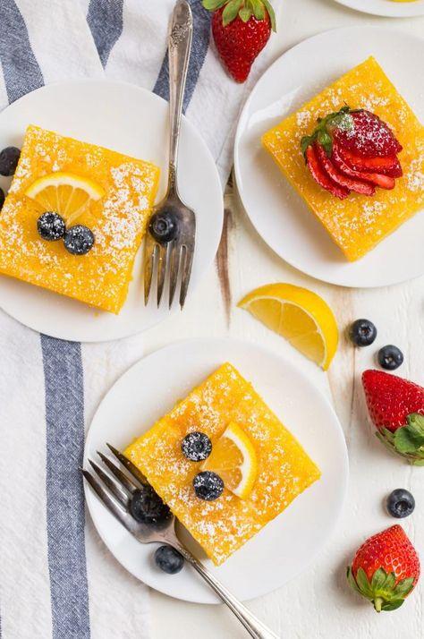 PERFECT Lemon Poke Cake. Original recipe!! Moist, easy ...