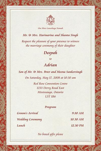 Hindu Wedding Invitation Template Luxury Indian Wedding Invitation Wor In 2020 Hindu Wedding Invitations Hindu Wedding Invitation Cards Indian Wedding Invitation Cards