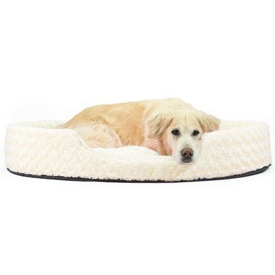 Archie Oscar Ernie Ultra Plush Oval Pet Bed With Removable Cover Size Jumbo Pet Bed Furhaven Mattress Dog Bed