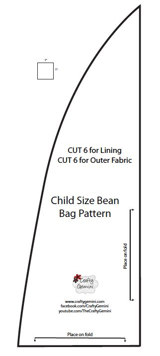 Child Size Bean Bag Chair DIY Video Tutorial
