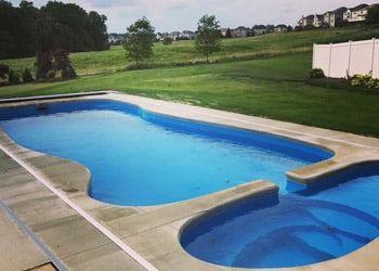 Daydream Inground Fiberglass Swimming Pool Model For Sale Near Me Fiberglass Swimming Pools Pool Fiberglass Pools