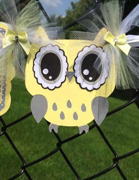 Owl baby shower gender neutral gender by NancysBannerBoutique