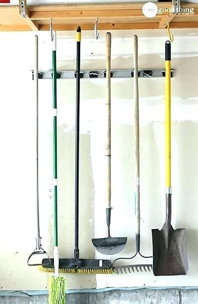 Garage Tool Hangers Garage Hangers Full Image For Wall Tool