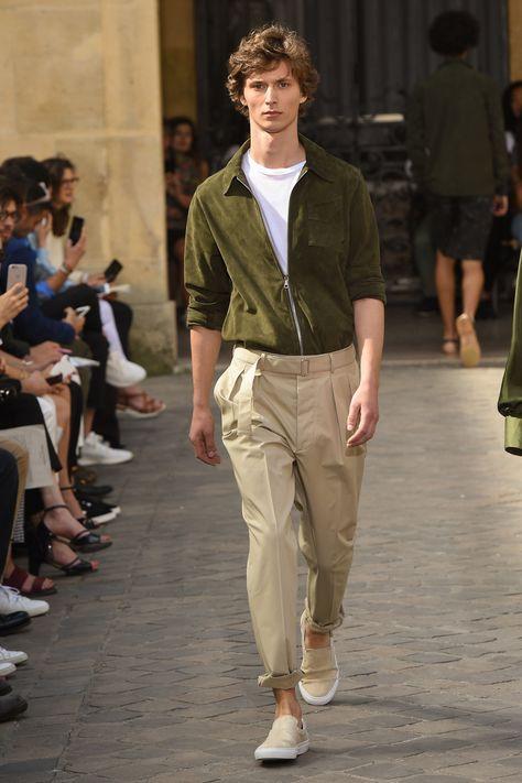 Officine Generale Spring 2018 Menswear Collection Photos - Vogue