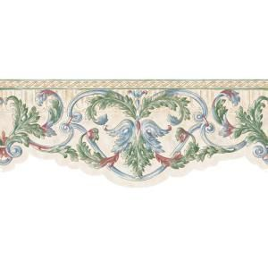 8 In X 15 Ft Green Scroll Border Wc1280664 At The Home