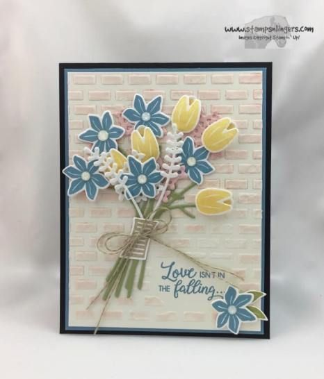 Stampin Up Beautiful Bouquet Anniversary Card Stamps N Lingers Flower Cards Beautiful Bouquet Anniversary Cards