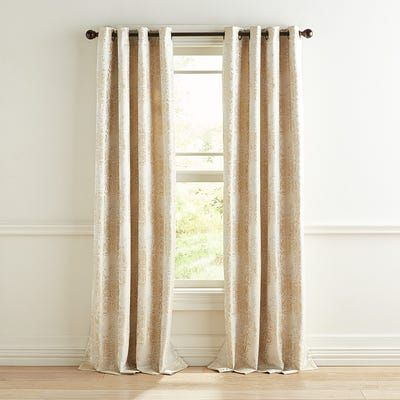 With A Subtle Sheen Our Whitmore Curtain Will Add A Touch Of Elegance To Your Room Contemporary Gr Luxurious Bedrooms Gold Curtains Living Room Gold Curtains