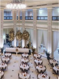 Setting Can Be Used For A Corporate Lunch Meeting Or Award Ceremonies
