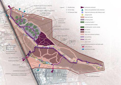 Aflaj Desert Park Project Exposes The Ancient Desert Irrigation