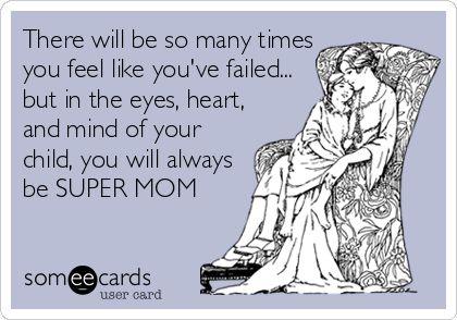 SUPER MOM Ecards