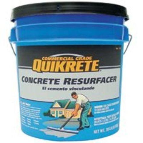 Quikrete 113120 Concrete Resurfacer 20 Lb Concrete Resurfacing Concrete Spalling Concrete