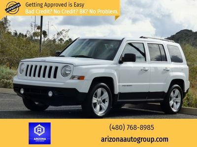 2014 Jeep Patriot Fwd 4dr High Altitude White Suv 4 Doors