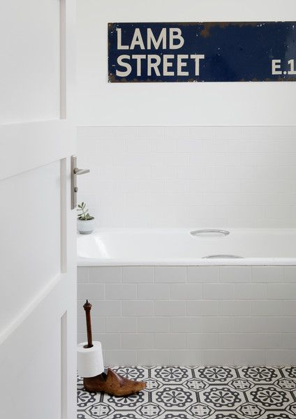 Wash Room Blues - A Creative Director's Dreamy Modern Farmhouse - Photos