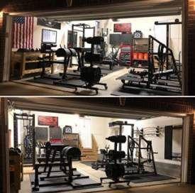 Home Gym Ideas Garage Tools 53 Ideas Sport